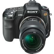 SONY數位相機 DSLR-A200K